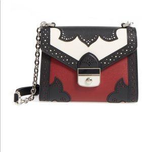 Longchamp Leather Effrontee Crossbody Bag
